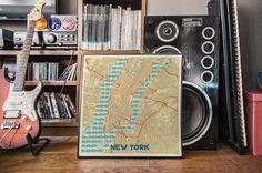 Retro City Map Posters - https://www.designideas.pics/retro-city-map-posters/