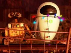 WALL-E, such a cute movie.
