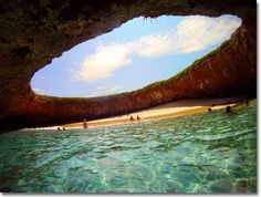 Marieta Islands outside puerto vallarta coast, MX