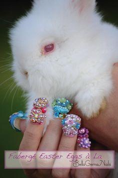 """Fabergé Easter Eggs à la BellaGemaNails"""" 8D"""