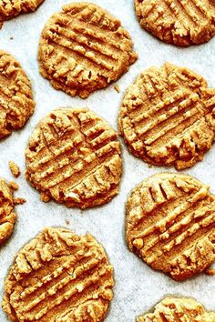 These peanut butter shortbread cookies are a quick and easy peanut butter cookie recipe! Bake the best peanut butter cookies using peanut butter and brown sugar. You will love baking these shortbread cookies for dessert or a snack!