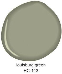 #BenjaminMoore Louisburg Green HC-113