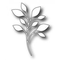 Poppystamps - Dies - Massa Leaf Background