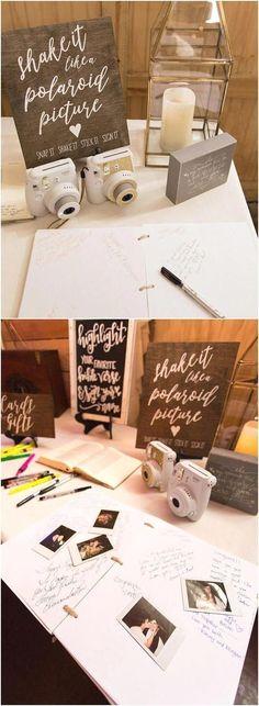 Polaroid Guest Book Sign - Rustic Wedding Signs - Wooden Wedding Signs - Shake I. Polaroid Guest Book Sign - Rustic Wedding Signs - Wooden Wedding Signs - Shake It Like A Polaroid Picture - Wedding Gues. Wedding Advice, Diy Wedding, Dream Wedding, Wedding Day, Trendy Wedding, Wedding Book, Wedding Favors, Wedding Ceremony, Wedding Venues
