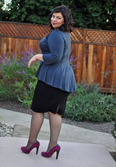 Ah Jay Miranda, this girl has so much style; always on top !I'm a huge fan XD My Plus Size Style