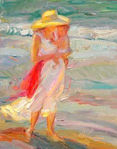 Summer (Study) Beach Series - Copyright  Diane Leonard, http://www.dianeleonard.com