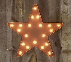 Pottery Barn Kids :: Light Up Star #pbkids   * playroom works, but really it could just about anywhere *