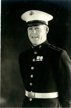 This is Private Paul M. Estis. He enlisted in the Marine Corps on 2 January 1935 and served with the 4th Marines in Shanghai, China from 23 March 1935 to 10 July 1936. The dress pictured on our last post belonged to him.   Semper Fi  #SemperFi #USMC #USMCmuseum #Marines #Quantico #DressBlues