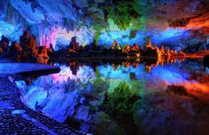 There are some places that are just SO beautiful that you have to see them to believe that they're real. We wish we could take you around the world to each of these incredibly gorgeous places, but for now, we'll take you on a virtual tour. The Reed Flute Cave (Guilin, Guangxi, China) This 180 [...]