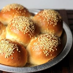 Sometimes you don't need a lot of bread. This recipe makes just six buns.