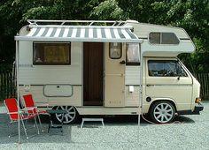 Volkswagen Karmann Coachbuilt Camper Van Wanna see more , visit http://www.motorhome-travels.co.uk/