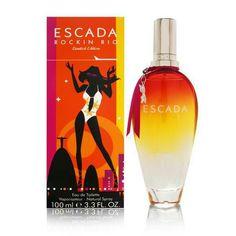Escada Rockin' Rio Limited Edition Eau de Toilette Spray for Women, 1 Oz Perfume Atomizer, Perfume Bottles, Perfume Reviews, Cosmetics & Perfume, Fragrance Parfum, Fragrances, Original Gifts, Body Lotions, Vodka Bottle