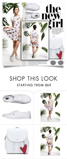 """""""annaemone"""" by amra-mak ❤ liked on Polyvore featuring Vans and annaemone"""