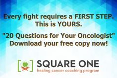 Our good friend, Chris Wark, shares with us 20 LIFE SAVING Questions for your Oncologist! Do you know the right questions to ask? Chris will take you step by step through these questions, giving you a firm foundation. This free guide could save your life! Be sure to check it out by clicking on the image above. // The Truth About Cancer <3