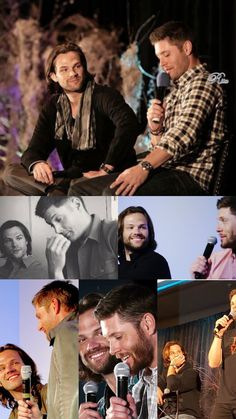 o.m.g, the way Jared  looks at Jensen. He looks up to his big brother.