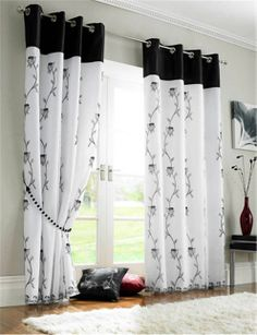 These curtains would look great in my front room