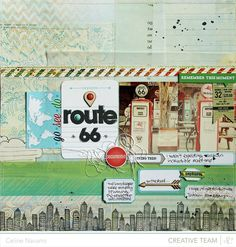 Route 66 *Studio Calico February kit* - Scrapbook.com