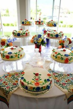 The tagline on these said they were traditional Mexican wedding cakes.