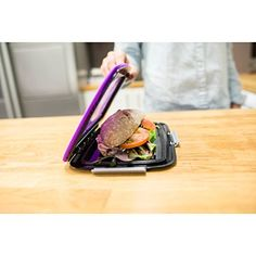 Compleat Foodskin - Lunchbox - Minzgrün: Amazon.de: Küche & Haushalt