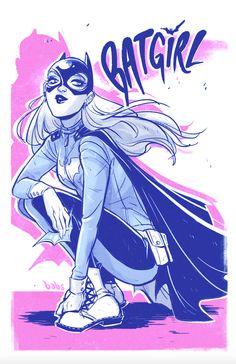 Batgirl by Babs Tarr