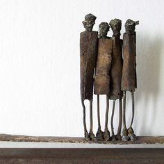 Mixed media metal sculptures | Junk art sculpture by Johan P. Jonsson  Skulpturer | Konst | Konstnär Johan P. Jonsson  Outsider art | JP Jonsson