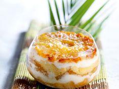 Coconut Pineapple Tiramisu – Recipes - Top Of The World Appetizer Recipes, Dessert Recipes, Cake Recipes From Scratch, Homemade Cake Recipes, Coconut Recipes, Cheesecake Recipes, Apple Cheesecake, Mousse, Easy Desserts