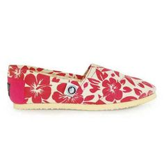 Slip-On Hawaii Shoes in Pink.