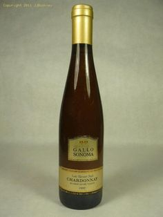 One of my favorite dessert wines...Gallo of Sonoma's Late Harvest Chardonnay.  Unfortunately, you cannot get it in stores, but could possibly find a bottle online thanks to modern technology.  You used to only be able to get this in Napa Valley.