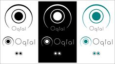 Oqtal - Old #logodesign for an eyewear store in the late 90s #logo #graphicdesign #branding #PagineWeb #Behance Check this and more at https://www.behance.net/gallery/43345993/Logo-Design-Some-Samples