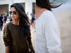 Thanks, I Made It: Inspiration: Embellished Shoulders