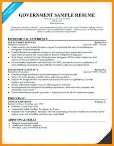 Free Resume Templates Government Resume Examples Job Resume Samples Job Resume Examples Resume Tips