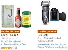"""Amazon: Öle und Soßen für einen Tag mit Rabatt https://www.discountfan.de/artikel/essen_und_trinken/amazon-oele-und-sossen-fuer-einen-tag-mit-rabatt.php """"Hochwertige Öle und Soßen"""" sind jetzt bei Amazon für einen Tag mit Rabatt zu haben. Im Rahmen der Aktion sind acht verschiedene Produkte im Angebot. Amazon: Öle und Soßen für einen Tag mit Rabatt (Bild: Amazon.de) Die Öle und Soßen zu Schnäppchenpreisen sind nur für einen Tag rabatti... #Öl, #Oli"""