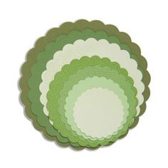 Black Friday wknd price $11.99 Sizzix Framelits Die Set 8PK - Circles, Scallop $19.99