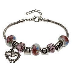 Charm Bracelets for Moms | -style charm bracelet is sure to be a hit with Mom. This bracelet ...