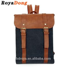 Royadong 2017 New Korean Style Retro Leisure Top Quality Vintage Canvas Youth Backpacks