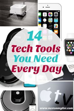 tech gadgets technology Tech tools come and go. Hopefully the tech tools you use every day make your life easier and fun. Here are 14 of the tech tools I use all the time and highly recommend. Diy Tech Gadgets, Latest Tech Gadgets, New Technology Gadgets, Technology Posters, Cool Gadgets To Buy, New Gadgets, Medical Technology, Energy Technology, Technology Logo