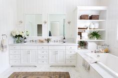 Reveal: Marble Bathroom Goals, El Dorado Hills CA - Design Shop Interiors Bathroom Goals, Bathroom Kids, Small Bathroom, Marble Bathrooms, Boho Bathroom, Bad Inspiration, Bathroom Inspiration, Bathroom Styling, Bathroom Interior Design