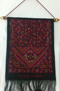 Wall hanging from Bethlehem region.Size:55*36 Price $82