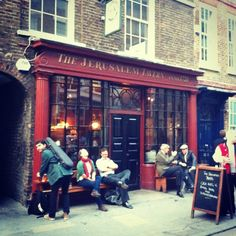 Jerusalem Tavern in London, Greater London