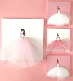 Weekend Sales + Mommy and Me Outfits - Stylish Petite - baby girl ballerina tutu art wall decor - Ballerina Tutu, Ballerina Bedroom, Ballet Room, Wall Art Decor, Nursery Decor, Baby Wall Decor, Diy Wall, Stylish Petite, Decoration Originale