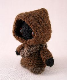 Ravelry: Jawa Star Wars Mini Amigurumi pattern by Lucy Ravenscar