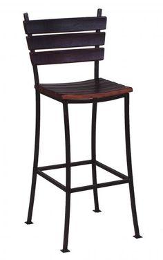 STAVE BACK BAR STOOL 30 - 2 Day Designs Wine Barrel Bar Stools, 24 Bar Stools, Kitchen Stools, Wine Barrels, Wine Barrel Furniture, Log Furniture, Slender Kitchen, Bar Counter, Counter Stools
