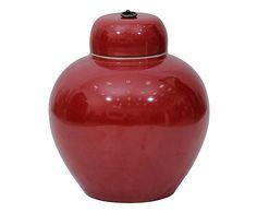 Pote Decorativo xangai - Vermelho
