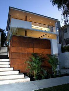 tropical house facade