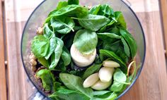 Ingredients for Basil Pesto..fresh and delicious! {foodess}