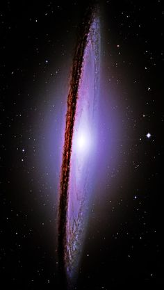 THE MAJESTIC MESSIER-104 (M-104) SOMBRERO GALAXY Photo By: NASA...
