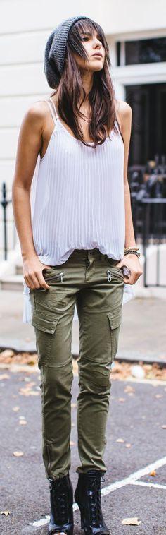 200 Ideas De Pantalones Cargo Pantalones Cargo Pantalones Moda