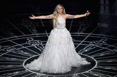 Pin for Later: Die 55 besten Bilder der Oscars 2015 Lady Gaga