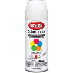 Krylon Colormaster Gloss White.  $5.97
