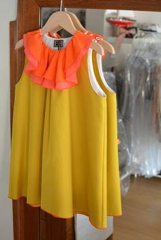 Yellow summer dress - Bbk